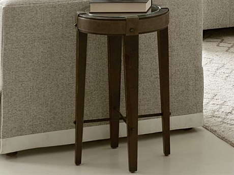 A.R.T. Furniture American Chapter Rye 15'' Wide Round End Table AT2473032936