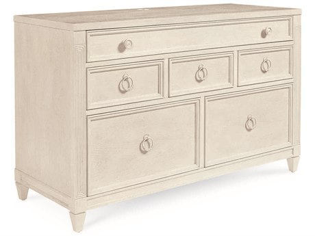 A.R.T. Furniture Roseline Nora Stucco White Credenza