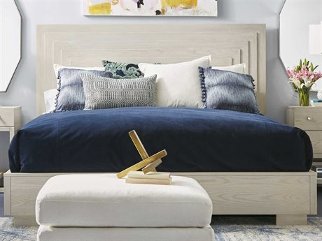 A.R.T. Furniture Epicenters Gloss White Queen Panel Bed AT3311452617