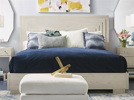 A.R.T. Furniture Epicenters Dry Gray King Panel Bed