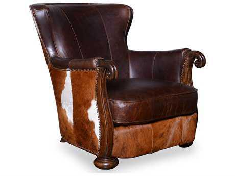 ART Furniture Kennedy Aged Leather Club Chair