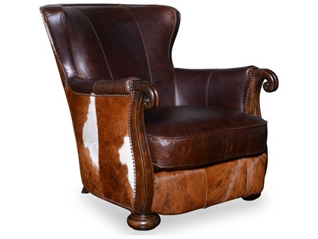 A.R.T. Furniture Kennedy Aged Leather Club Chair
