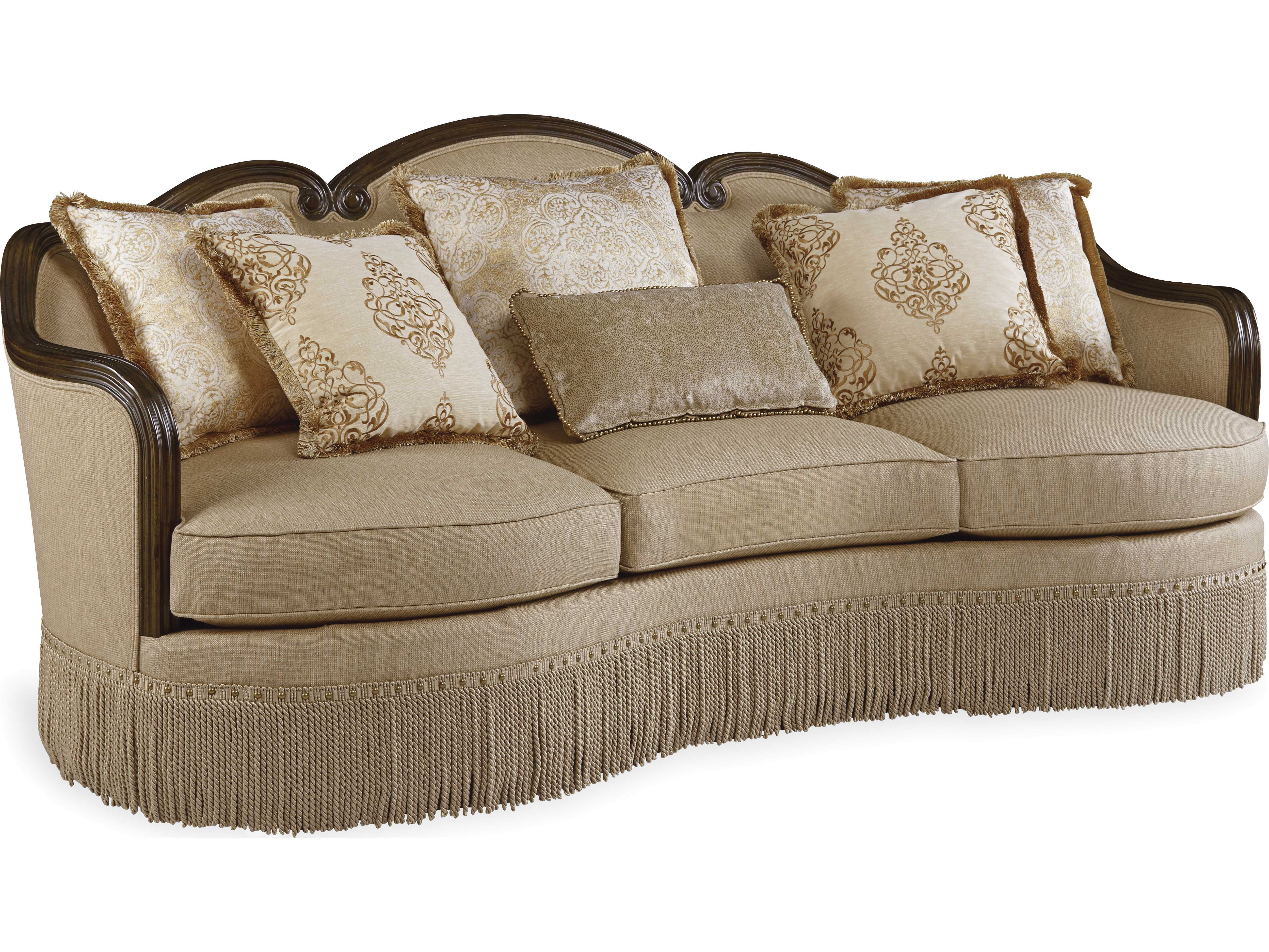 Art furniture giovanna golden quartz valencia sofa - Sofas valencia alberic ...