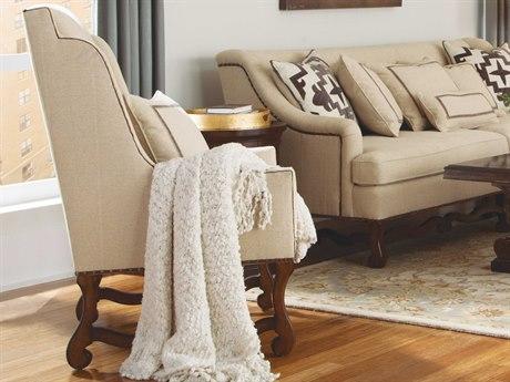 ART Furniture Tyler Natural & Light Oak Wing Accent Chair