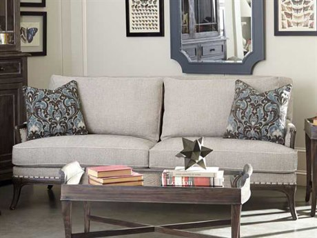 A.R.T. Furniture Saint Germain Seine Pewter Sofa