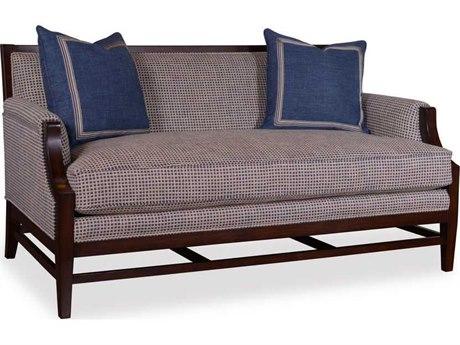 ART Furniture Bristol Seine Pewter Sofa with Stretcher Base