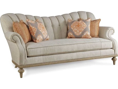 A.R.T. Furniture Collection One Weathered Gray Brewster Channel Back
