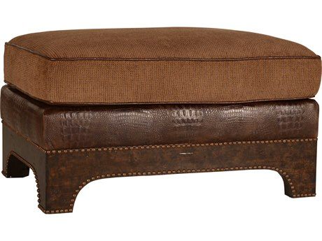 ART Furniture Collection One Weathered Grey Roll Arm Ottoman