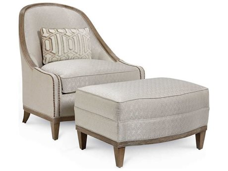 A.R.T. Furniture Cityscapes Diamond Accent Chair and Ottoman Set