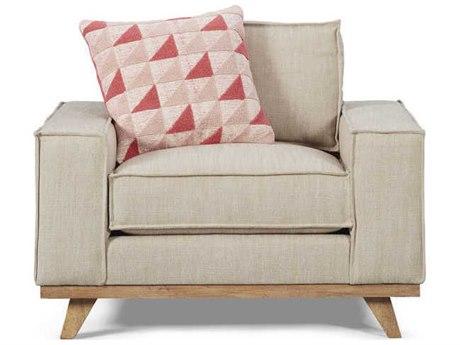 A.R.T. Furniture Epicenters Austin Van Zandt Wire Brushed Club Chair