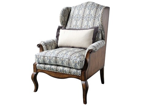 A.R.T. Furniture Empyrean Sky Melange Brown & Tobacco Accent Chair