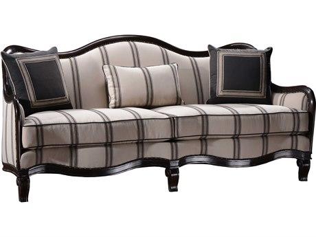 ART Furniture Empyrean Sky Melange Brown Carved Frame Sofa