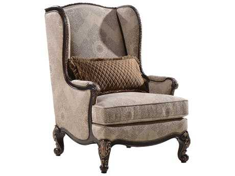 ART Furniture Chamberlain Taupe Wing Accent Chair