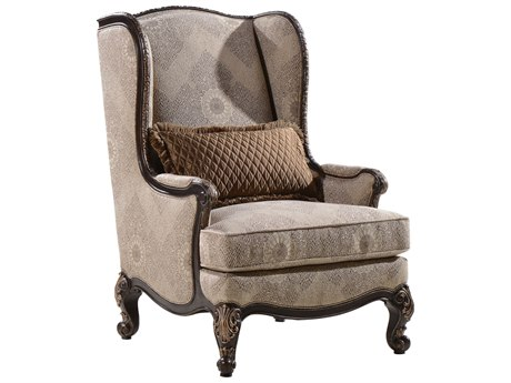 A.R.T. Furniture Chamberlain Taupe Wing Accent Chair