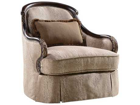 ART Furniture Chamberlain Taupe Swivel Accent Chair