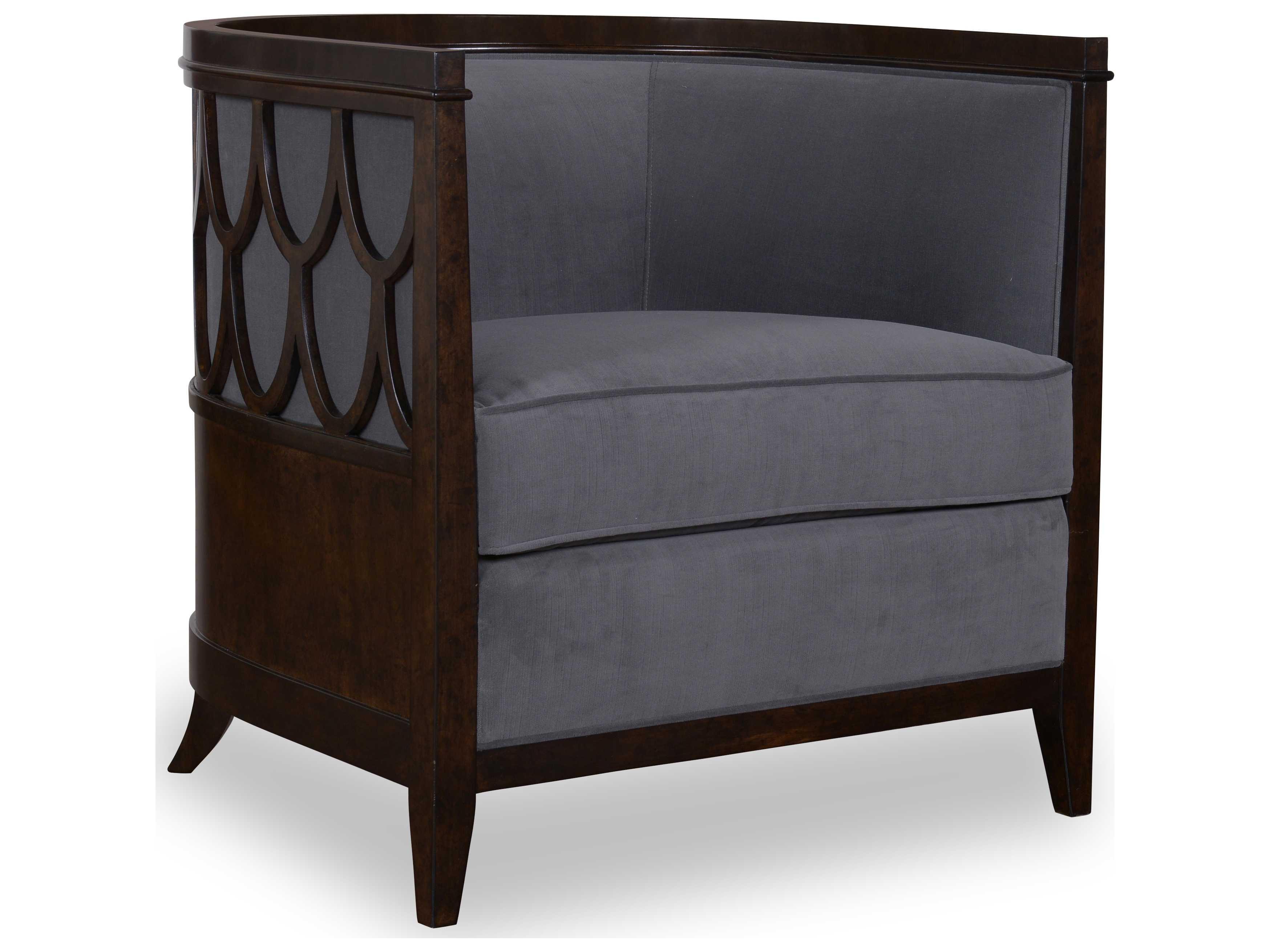 ART Furniture Morgan Charcoal Brindle Accent Chair