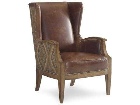 ART Furniture The Foundry Natural Wing Accent Chair
