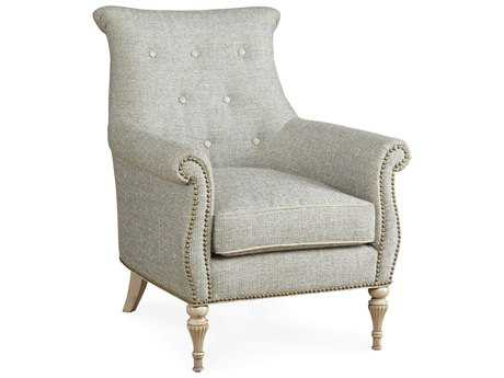 ART Furniture The Foundry Light Grey Melange Accent Chair