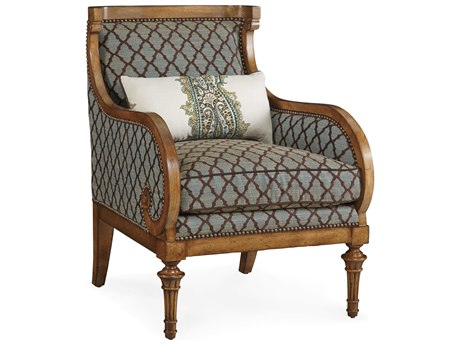 ART Furniture The Foundry Light Oak & weathered teal Wing Accent Chair