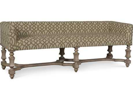 ART Furniture The Foundry Weathered Cream Accent Bench