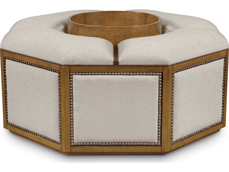 ART Furniture The Foundry Brownstone McFee Cocktail Ottoman