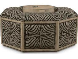 ART Furniture The Foundry Weathered Grey Burroughs Cocktail Ottoman