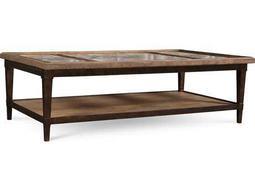 ART Furniture The Foundry Light Oak & Walnut 62''L x 33.5''W Rectangular Cocktail Table