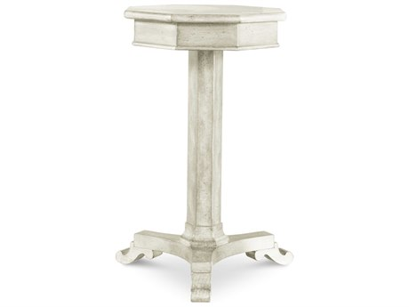ART Furniture The Foundry Antique Grey 14'' Wide Round Pedestal Table