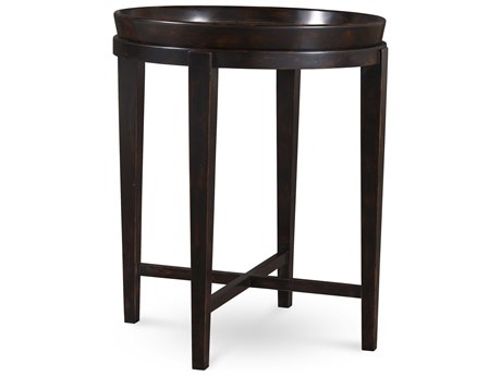 A.R.T. Furniture The Foundry Peppercorn 22'' Wide Round End Table