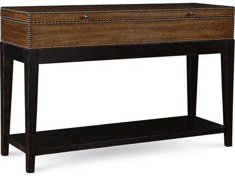 ART Furniture The Foundry Brownstone & Peppercorn 50''L x 17''W Rectangular Console Table