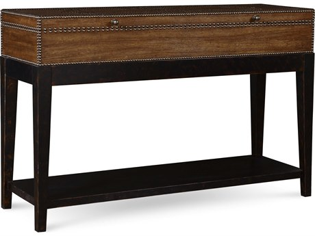 A.R.T. Furniture The Foundry Brownstone & Peppercorn 50''L x 17''W Rectangular Console Table