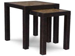 ART Furniture The Foundry Peppercorn 20'' Wide Nesting Tables