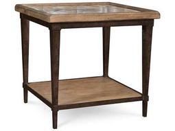 ART Furniture The Foundry Light Oak & Walnut 30''L x 26''W Rectangular End Table