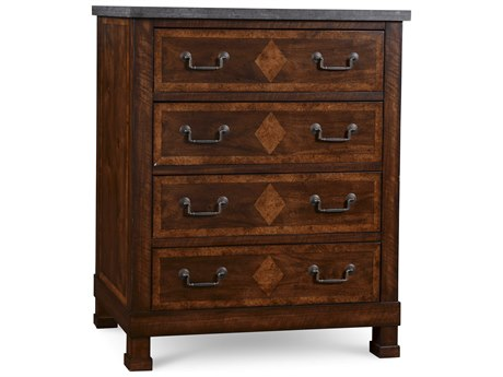 ART Furniture The Foundry Brownstone 34''W x 20''D Chest of Drawers