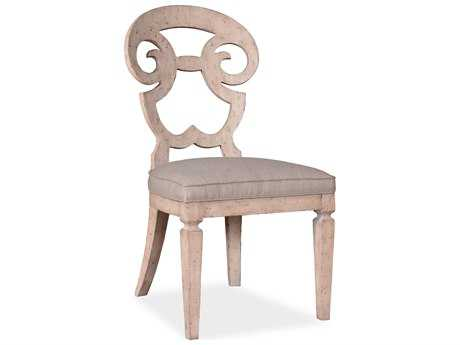 ART Furniture The Foundry Weathered Cream Dining Side Chair