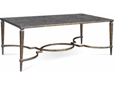 ART Furniture Marni Antique textured metal 51''L x 33''W Rectangular Cocktail Table