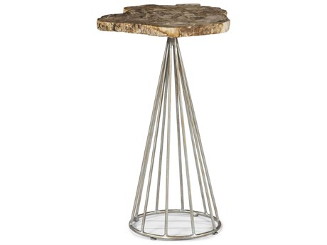 A.R.T. Furniture The Foundry Silver 14''L x 13''W Chairside End Table