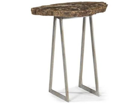 A.R.T. Furniture The Foundry Leckie Silver 14''L x 13''W End Table