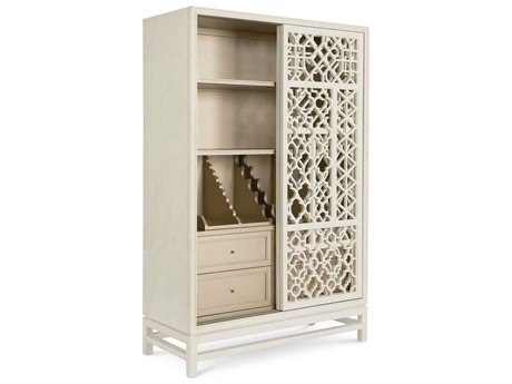 A.R.T. Furniture The Foundry IIII Ivory Storage Bar Cabinet