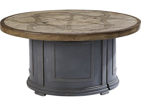 A.R.T. Furniture Morrissey Outdoor Sutter 48 Round Firepit Table