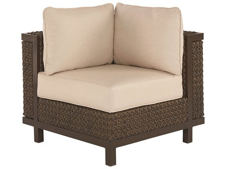 A.R.T. Furniture Epicenters Outdoor Brentwood Wicker Corner/End Chair
