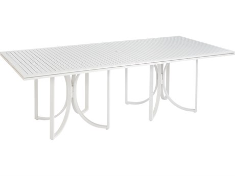 A.R.T. Furniture Cityscapes Outdoor Empire Slat Top 96 x 44 Rectangular Dining Table