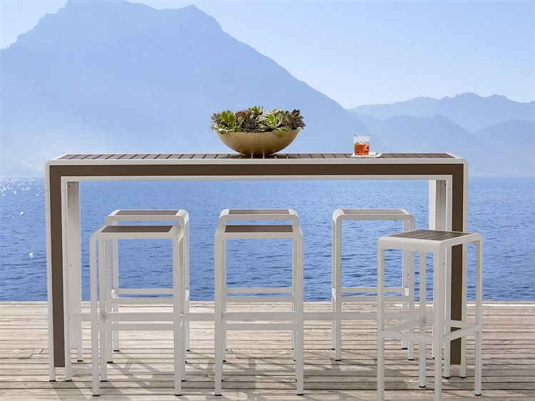 A.R.T. Furniture Cityscapes Outdoor Chrysler Bar Set