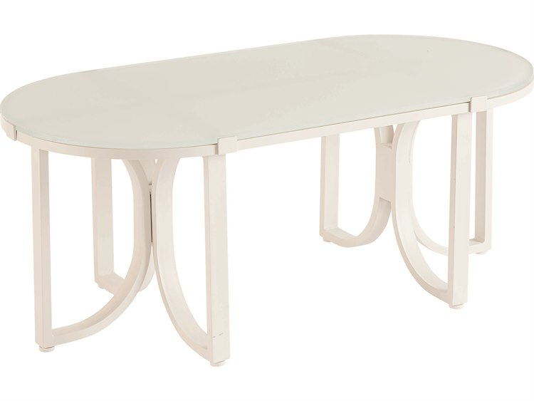 A.R.T. Furniture Cityscapes Outdoor Manning 48 x 24 Oval Cocktail Table