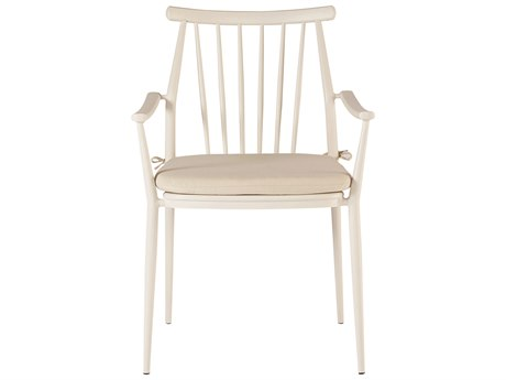 A.R.T. Furniture Epicenters Austin Outdoor Darrow Arm Chair (white) (Price includes 2)