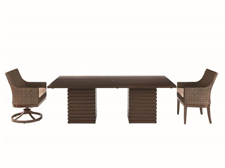 A.R.T. Furniture Outdoor Epicenters Wicker Dining Set