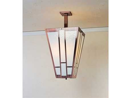 Arroyo Craftsman Asheville Four-Light Inverted Pendant