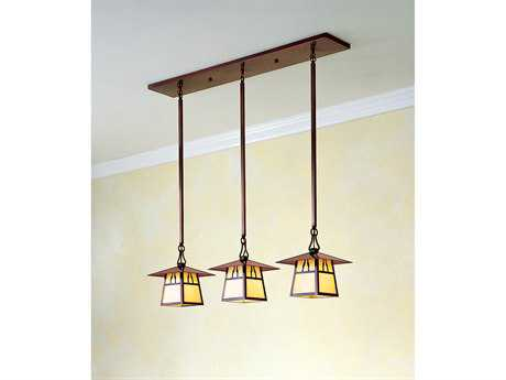 Arroyo Craftsman Carmel Three-Light Island Light