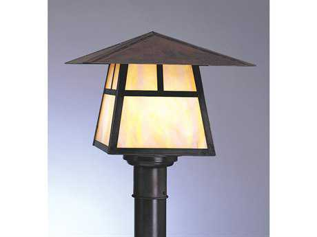 Arroyo Craftsman Carmel Outdoor Post Mount Light