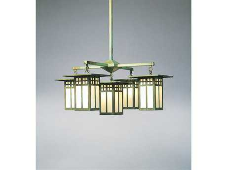 Arroyo Craftsman Glasgow Four-Light Chandelier